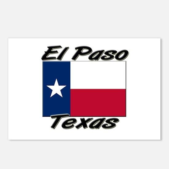 El Paso Texas Postcards (Package of 8)