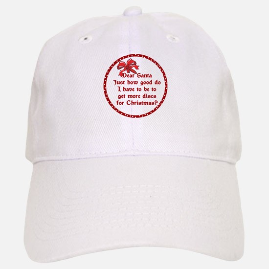 Good Disc Golf Christmas Baseball Baseball Cap