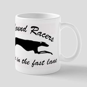 greyhound racers Mug