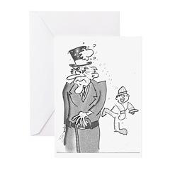 """Bah Humbug!"" Greeting Cards (pk Of 10)"