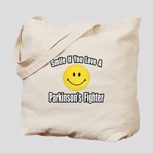 """""""Love a Parkinson's Fighter"""" Tote Bag"""