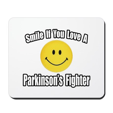 """Love a Parkinson's Fighter"" Mousepad"