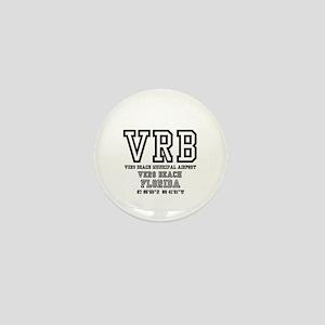AIRPORT CODES - VRB - VERO BEACH, FLOR Mini Button
