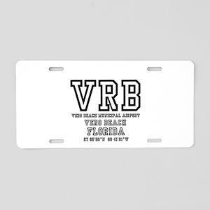 AIRPORT CODES - VRB - VERO Aluminum License Plate