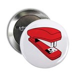 """Red Stapler 2.25"""" Button (10 pack)"""
