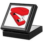 Red Stapler Keepsake Box