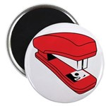 Red Stapler Magnet