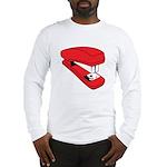 Red Stapler Long Sleeve T-Shirt