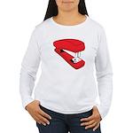 Red Stapler Women's Long Sleeve T-Shirt