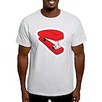 Red Stapler Light T-Shirt