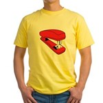 Red Stapler Yellow T-Shirt