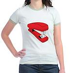 Red Stapler Jr. Ringer T-Shirt