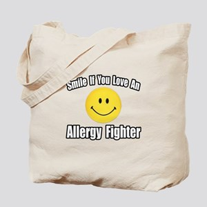 """Love an Allergy Fighter"" Tote Bag"