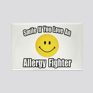 """""""Love an Allergy Fighter"""" Rectangle Magnet"""