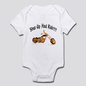 Shut up and ride! Infant Bodysuit