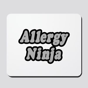 """Allergy Ninja"" Mousepad"
