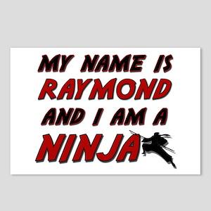 my name is raymond and i am a ninja Postcards (Pac