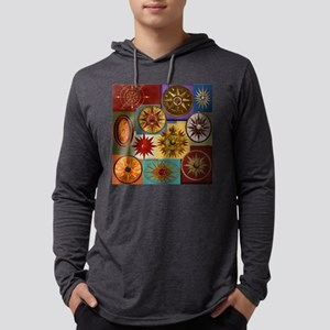 Harvest Moons Compass Roses Long Sleeve T-Shirt