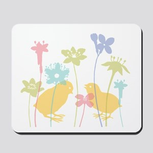 Spring Chicks Mousepad