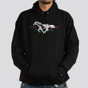 Mustang Horse Hoodie (dark)