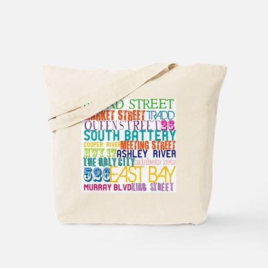 Charleston, SC City Tote Bag