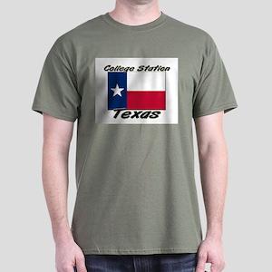 College Station Texas Dark T-Shirt