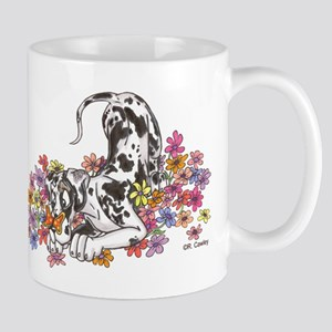 NH Pup In Flowers Mug