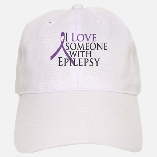 Love Someone with Epilepsy Baseball Baseball Cap