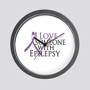 Love Someone with Epilepsy Wall Clock