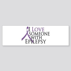 Love Someone with Epilepsy Bumper Sticker