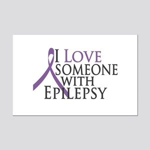 Love Someone with Epilepsy Mini Poster Print