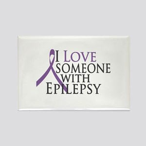 Love Someone with Epilepsy Rectangle Magnet