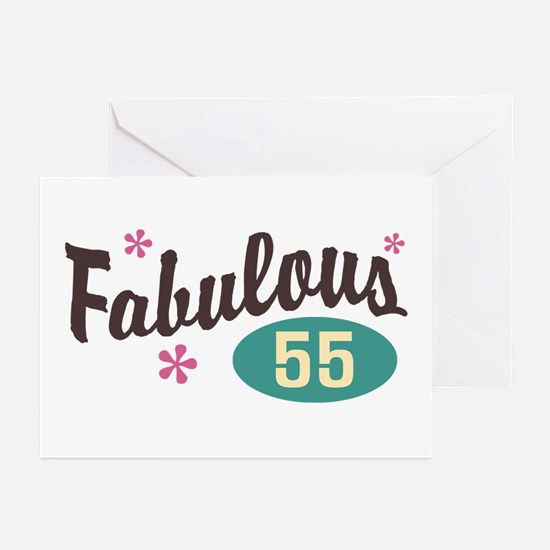 Fabulous 55 Greeting Cards (Pk of 10)