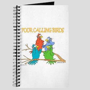 Four Calling Birds Journal