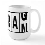 Iraq / Iran Large Mug