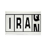 Iraq / Iran Rectangle Magnet (100 pack)