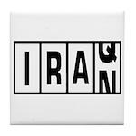 Iraq / Iran Tile Coaster