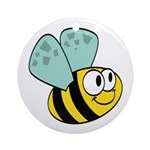 Buzz Bee Ornament (Round)