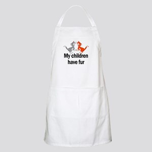 My Children Have Fur BBQ Apron