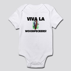 Viva La Woodpeckers Infant Bodysuit