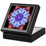 Bachelors Button I-a Keepsake Box