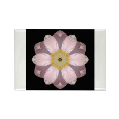 Lavender Pink Peony II Rectangle Magnet