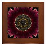 Sunflower Moulin Rouge II Framed Tile