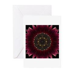 Sunflower Moulin Rouge II Greeting Cards (Package