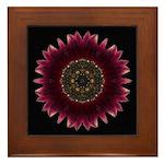 Sunflower Moulin Rouge I Framed Tile