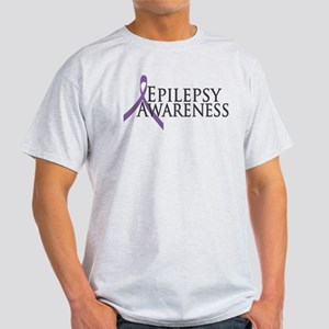 Epilepsy Awareness Ribbon Light T-Shirt