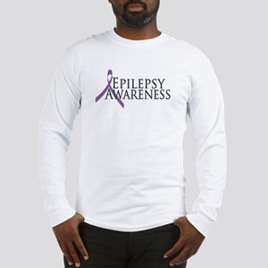 Epilepsy Awareness Ribbon Long Sleeve T-Shirt