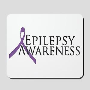 Epilepsy Awareness Ribbon Mousepad