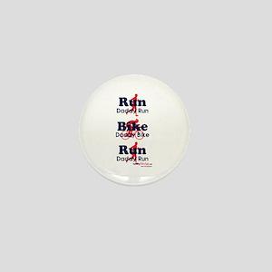Duathlon Dad Mini Button