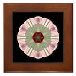 Hibiscus Moscheutos I Framed Tile